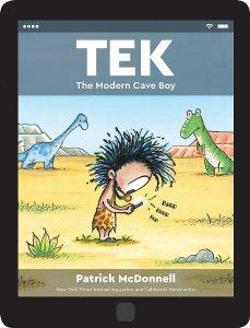Tek: The Modern Cave Boy cover