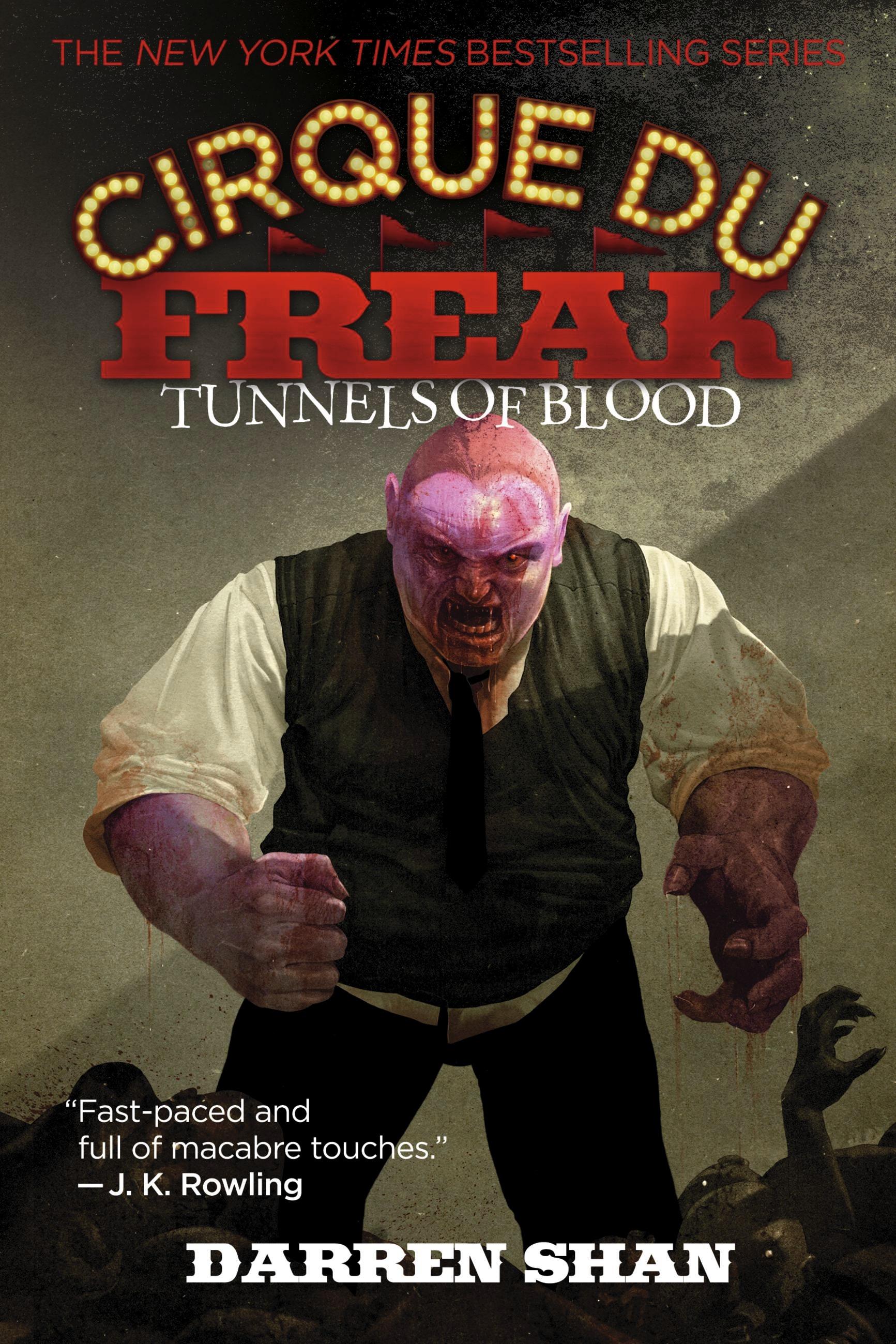 Cirque Du Freak 3 Tunnels Of Blood By Darren Shan