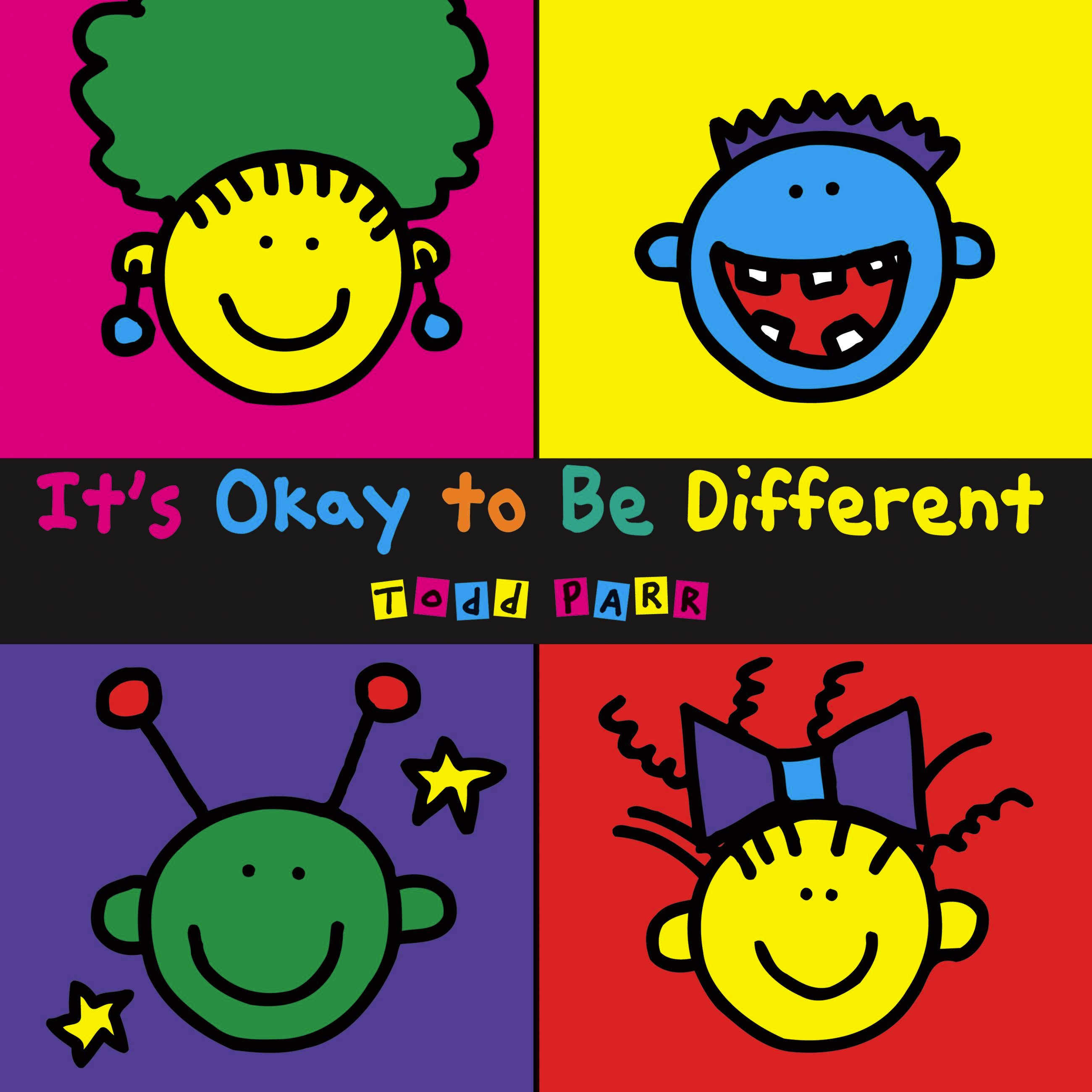 Image result for it's ok to be different todd parr activities