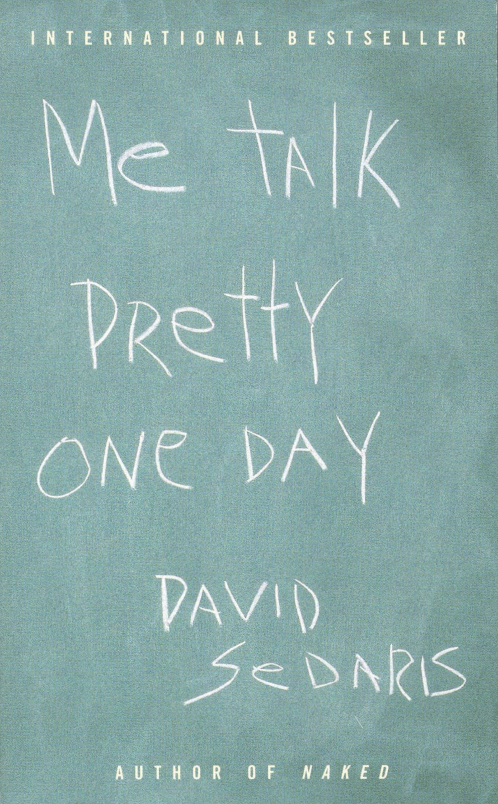 me talk pretty one day essays
