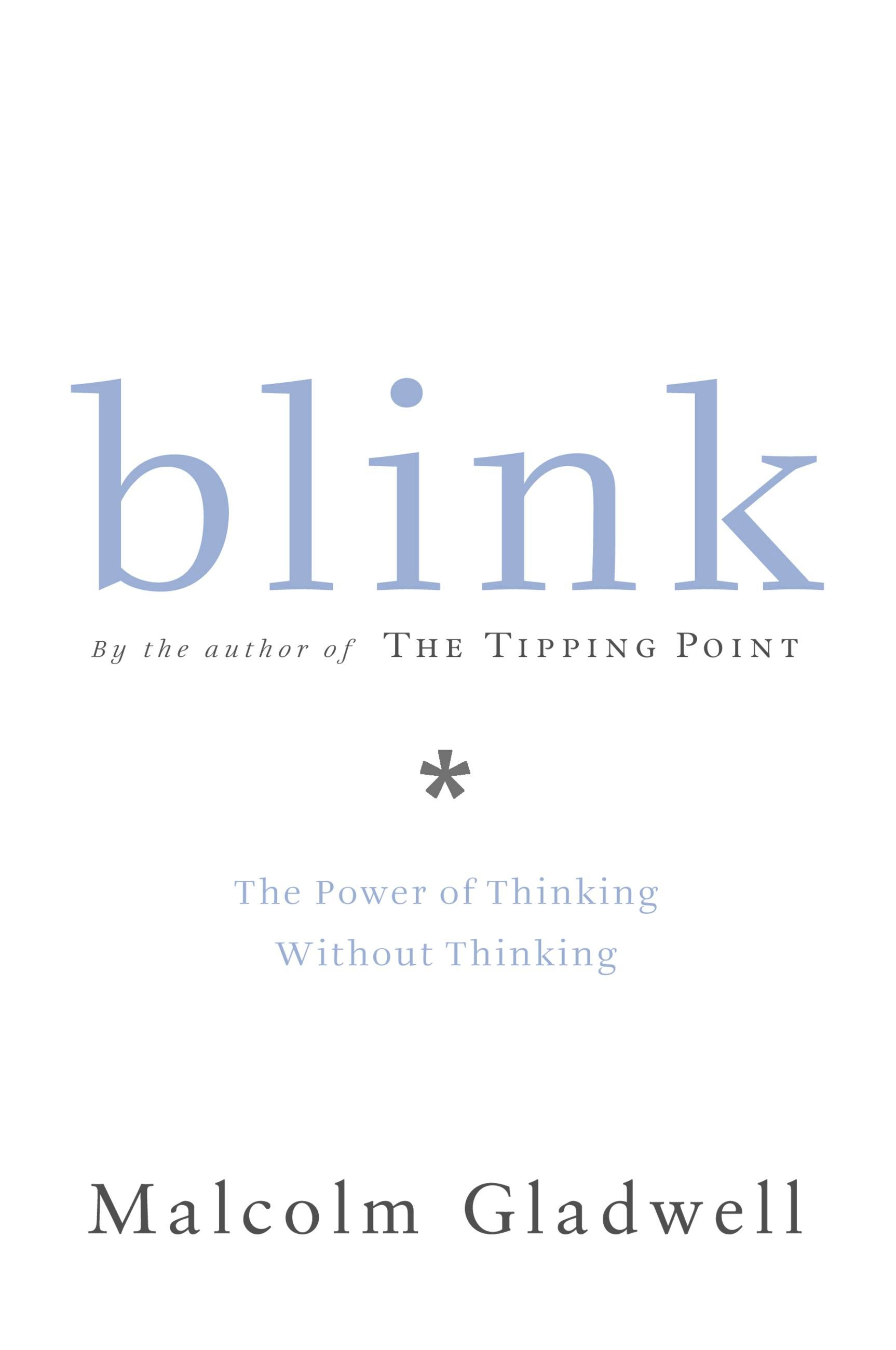 an analysis of the examples of thin slicing in blink by malcolm gladwell and dead poets society In a meta-analysis of 42 studies on this technique, carpenter  person isn t thin ing this thought,  compared the language of poets who went.