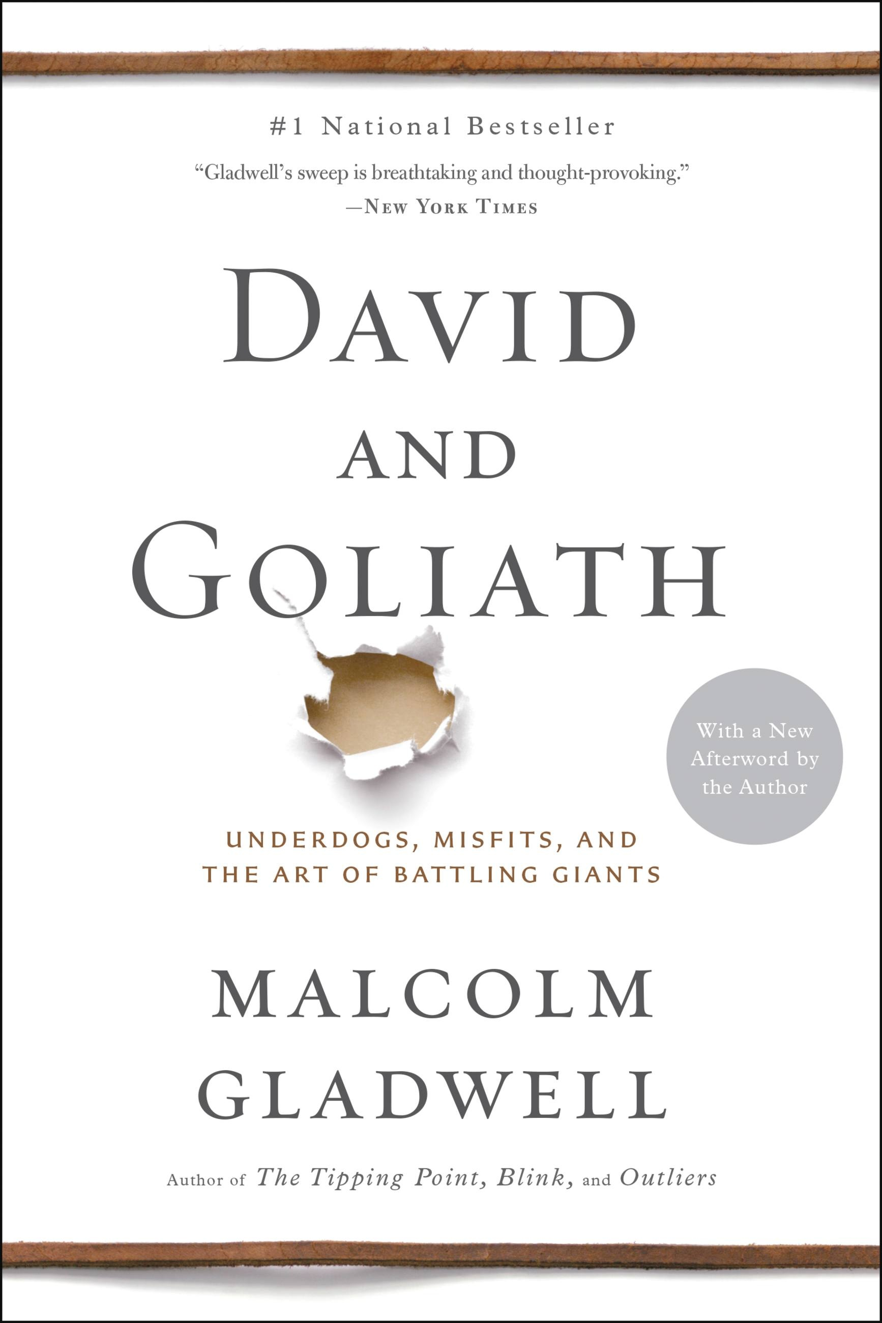Outliers by malcolm gladwell hachette book group david and goliath fandeluxe Gallery