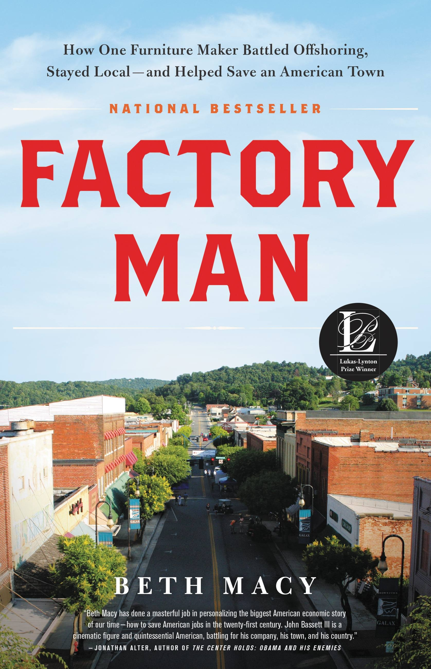 Factory Man by Beth Macy | Hachette Book Group