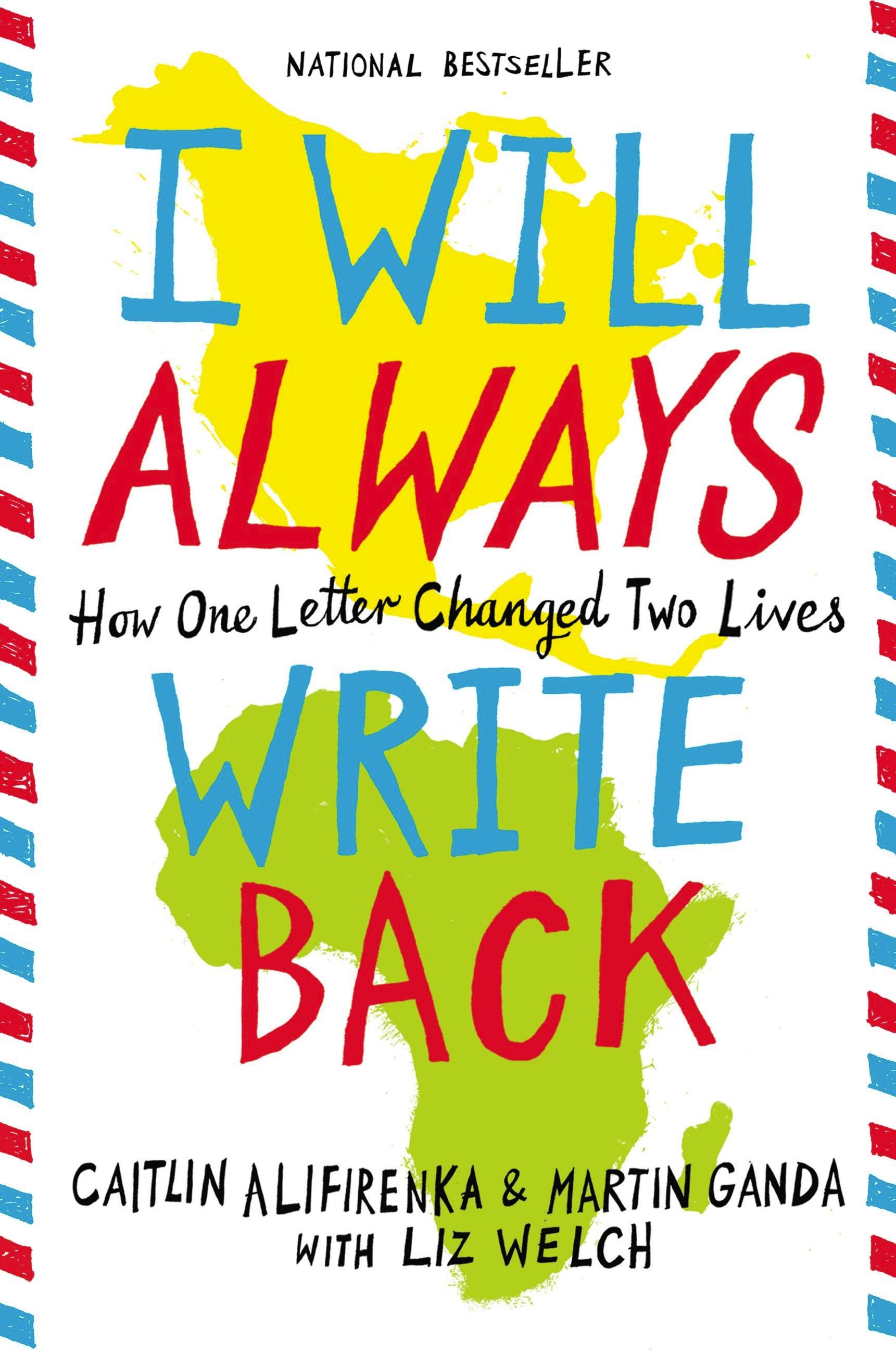 I Will Always Write Back by Martin Ganda | Hachette Book Group