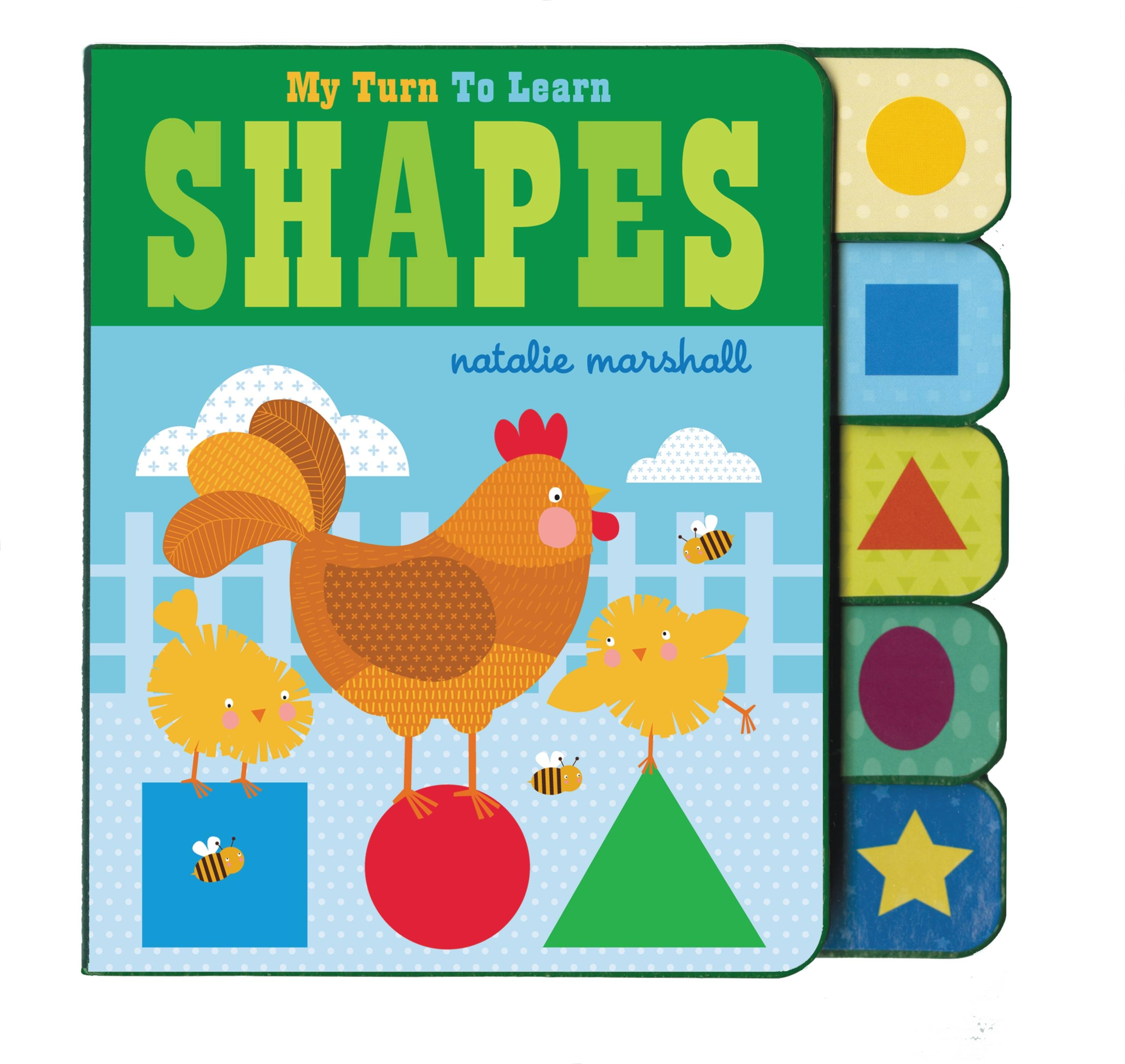 My Turn To Learn Shapes by Natalie Marshall | Hachette ...