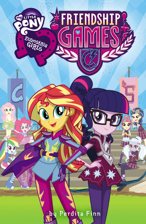 my little pony equestria girl book