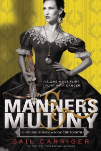 Manners & Mutiny by Gail Carriger Book Cover