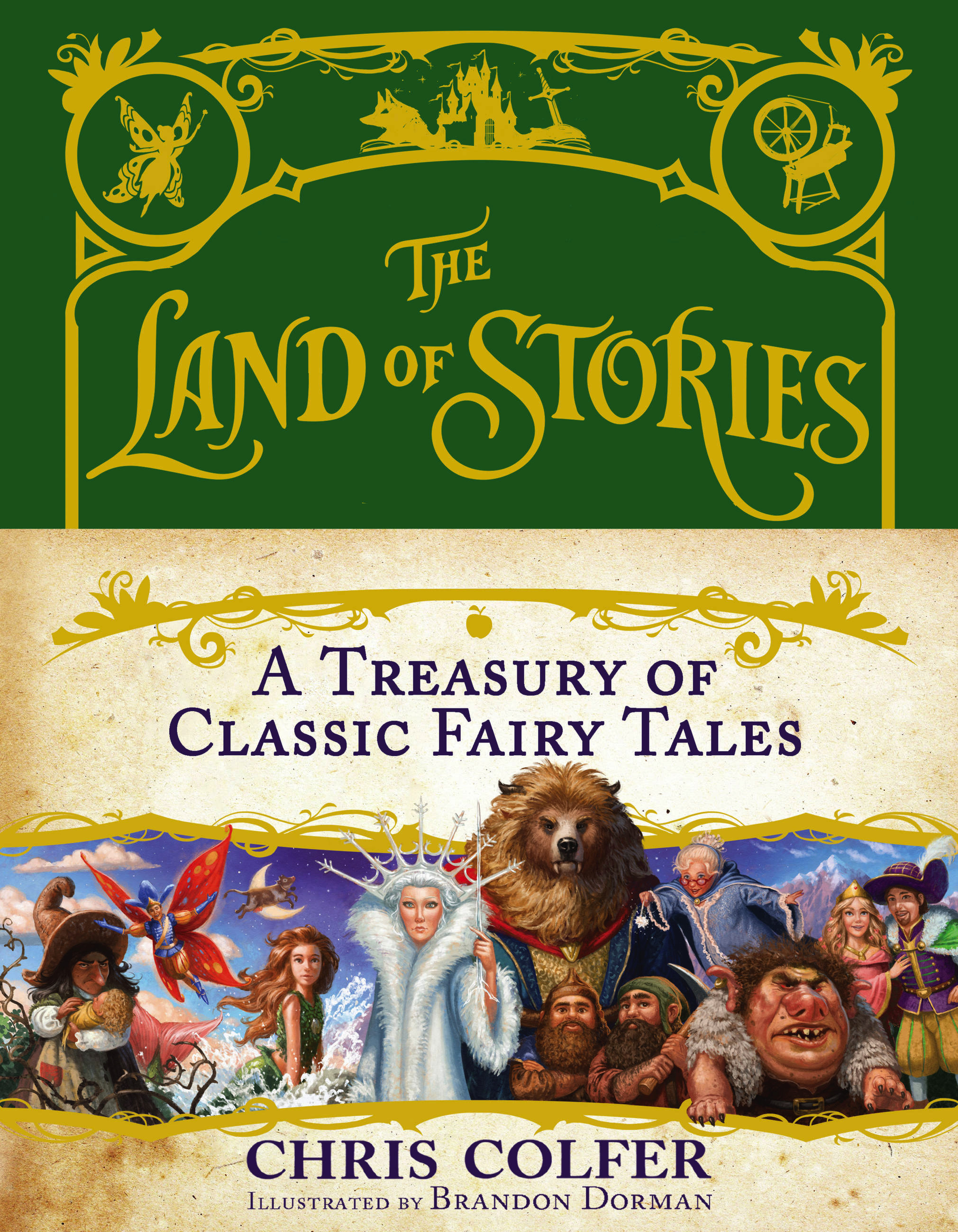 The Land of Stories: A Treasury of Classic Fairy Tales by ...