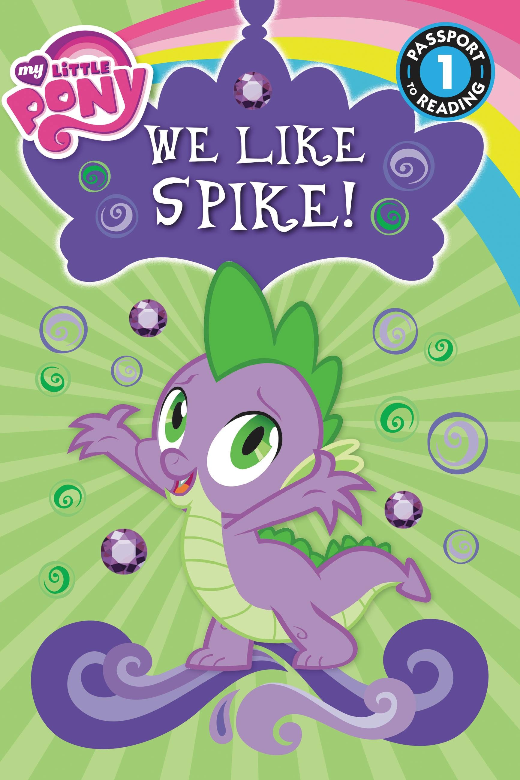 My Little Pony: We Like Spike! by Jennifer Fox | Hachette ...