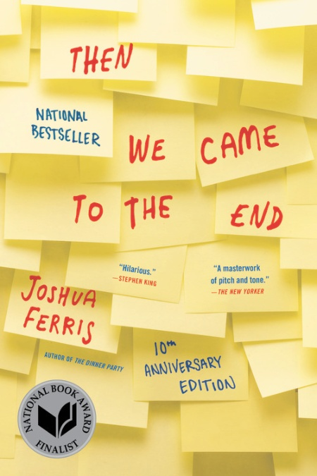Image result for then we came to the end book cover
