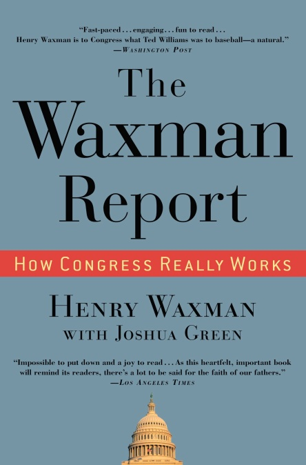waxman report Samuel waxman cancer research foundation continents including north america, asia and europe, waxman funded investigators are collaborating with each other all over the globe.
