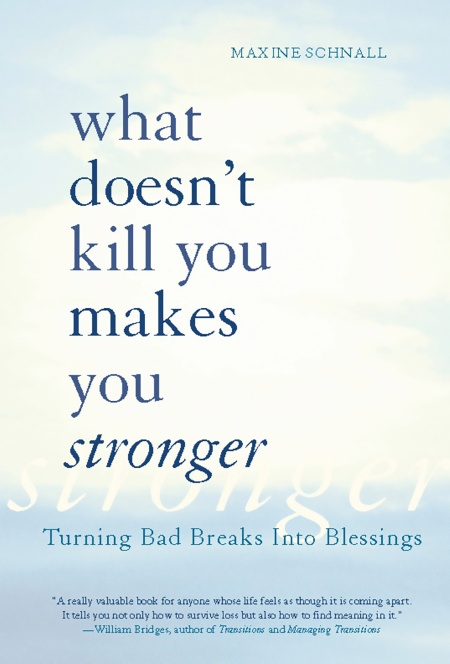 What Doesn T Kill You Makes You Stronger By Maxine Schnall Hachette Book Group