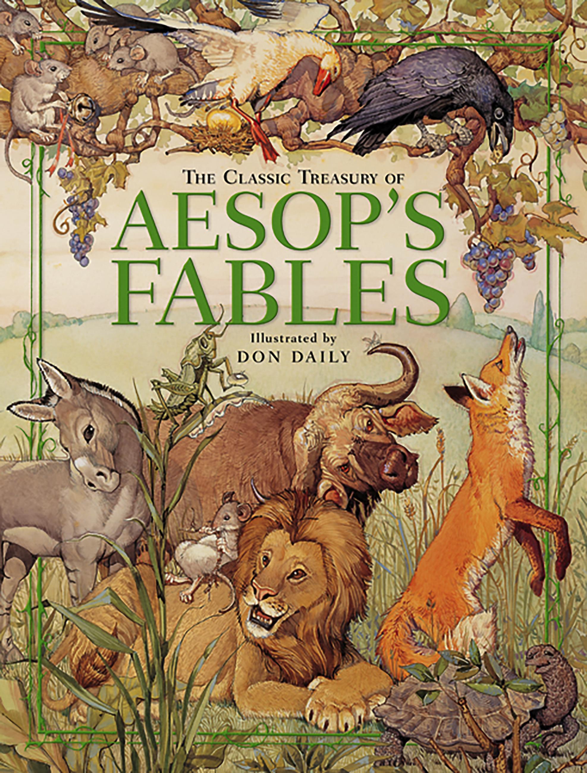 aesop fables list