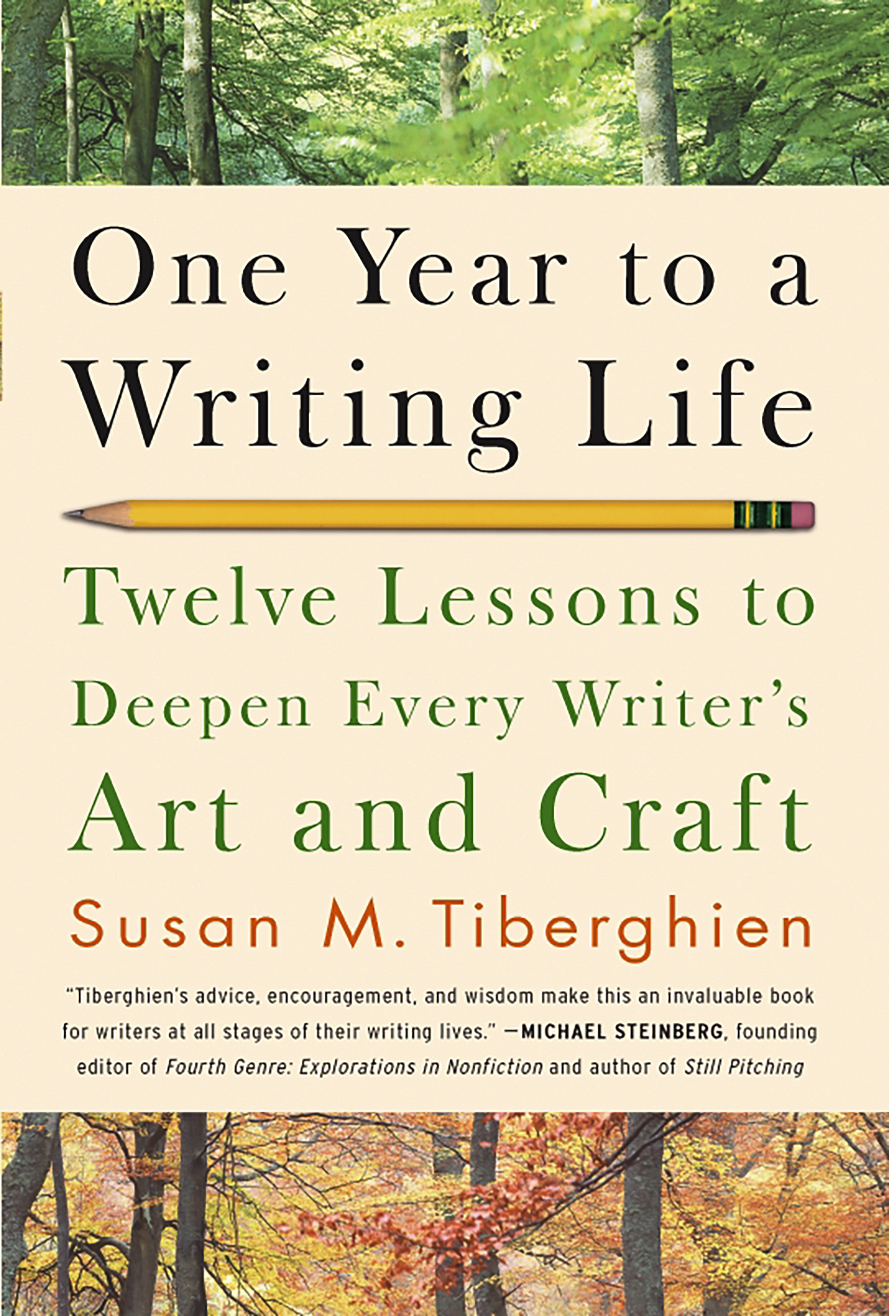 One Year To A Writing Life By Susan M Tiberghien