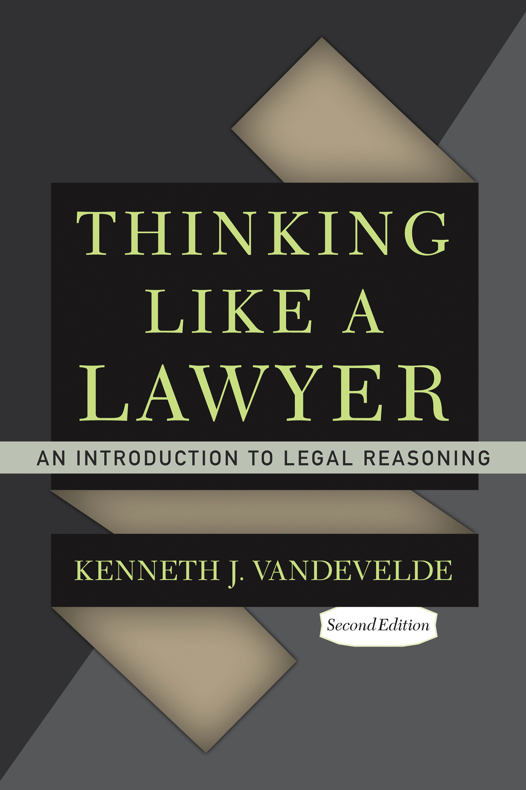 an analysis of legal reasoning in thinking like a lawyer a book by frederick schauer In his classic primer on legal reasoning, thinking like a lawyer: a new introduction to legal reasoning (thinking like a lawyer), 10 frederick schauer, thinking like a lawyer: a new introduction to legal reasoning (united states of america: harvard university press, 2009.