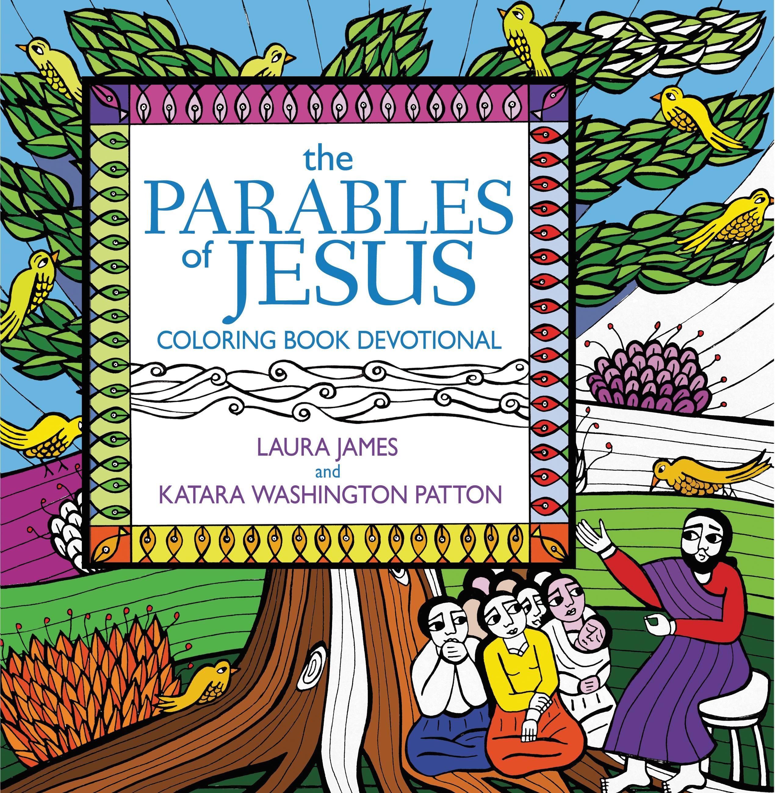 the parables of jesus coloring book devotional u2013 hachette book group