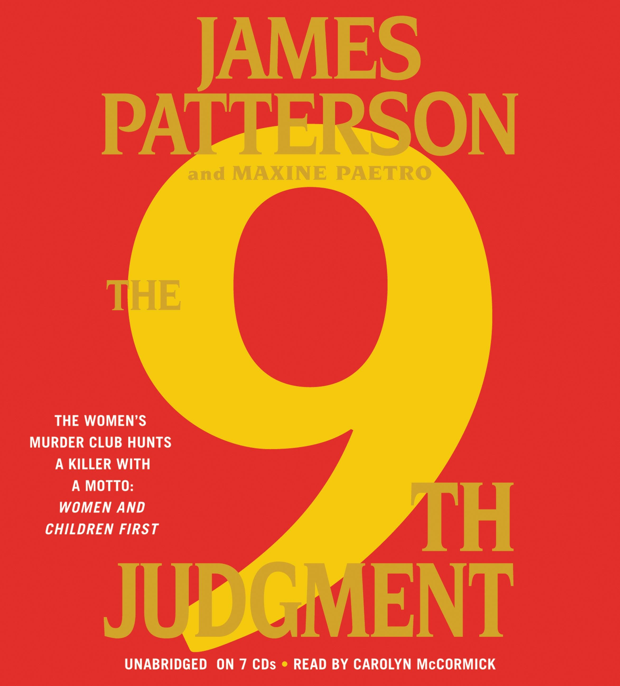 The 9th Judgment by James Patterson | Hachette Book Group