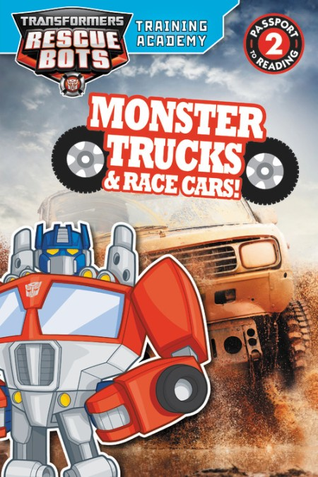 Transformers Rescue Bots Training Academy Monster Trucks And