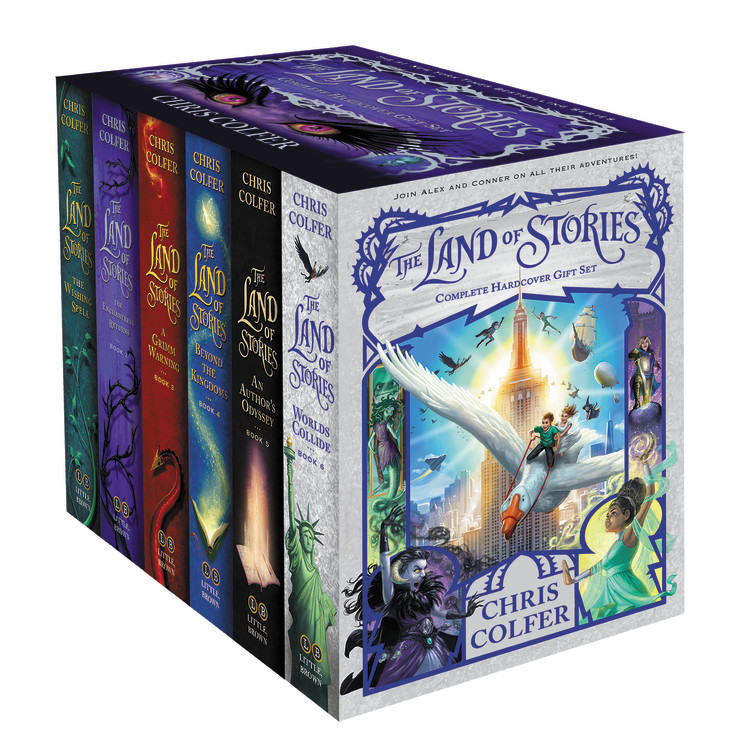 Image result for land of stories complete series