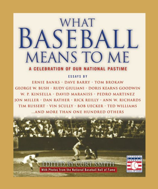 What Baseball Means to Me – Hachette Book Group