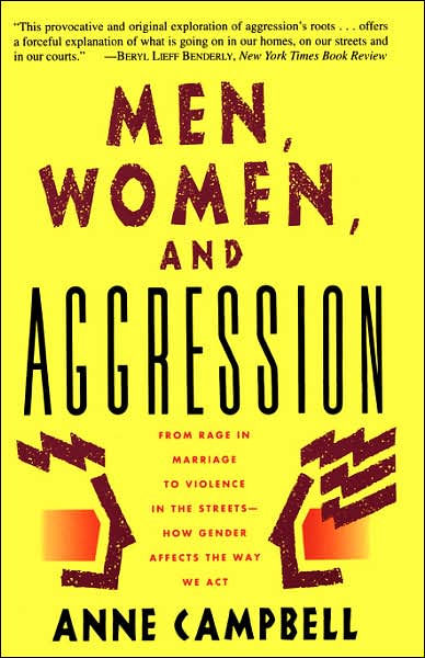 gender aggression differences between mens and womens aggressive behavior