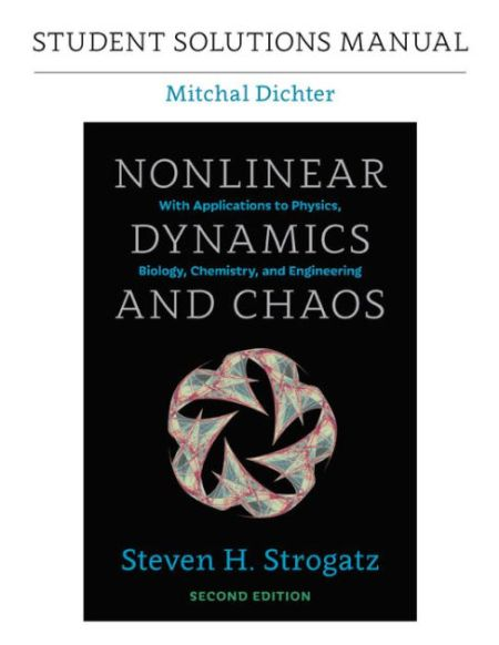 Student solutions manual for nonlinear dynamics and chaos 2nd student solutions manual for nonlinear dynamics and chaos 2nd edition fandeluxe Choice Image