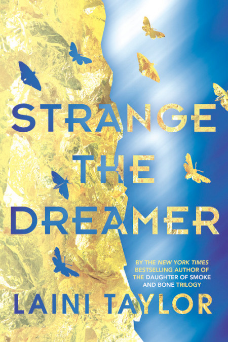 Strange the Dreamer by Laini Taylor Book Cover
