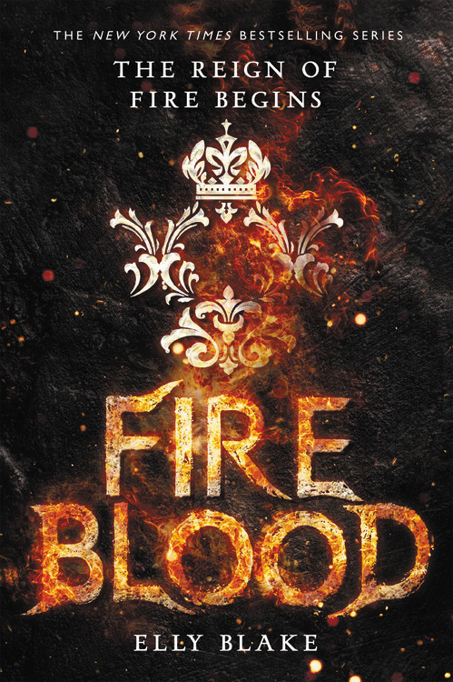 Firebook by Elly Blake Book Cover