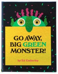 Go Away, Big Green Monster! cover
