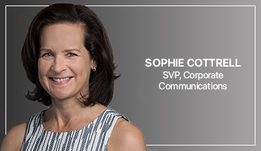 Sophie Cottrell - SVP, Corporate Communications