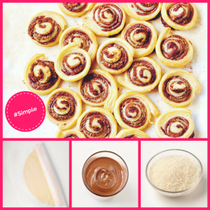 Chocolate Coconut Pinwheels from Simple Desserts