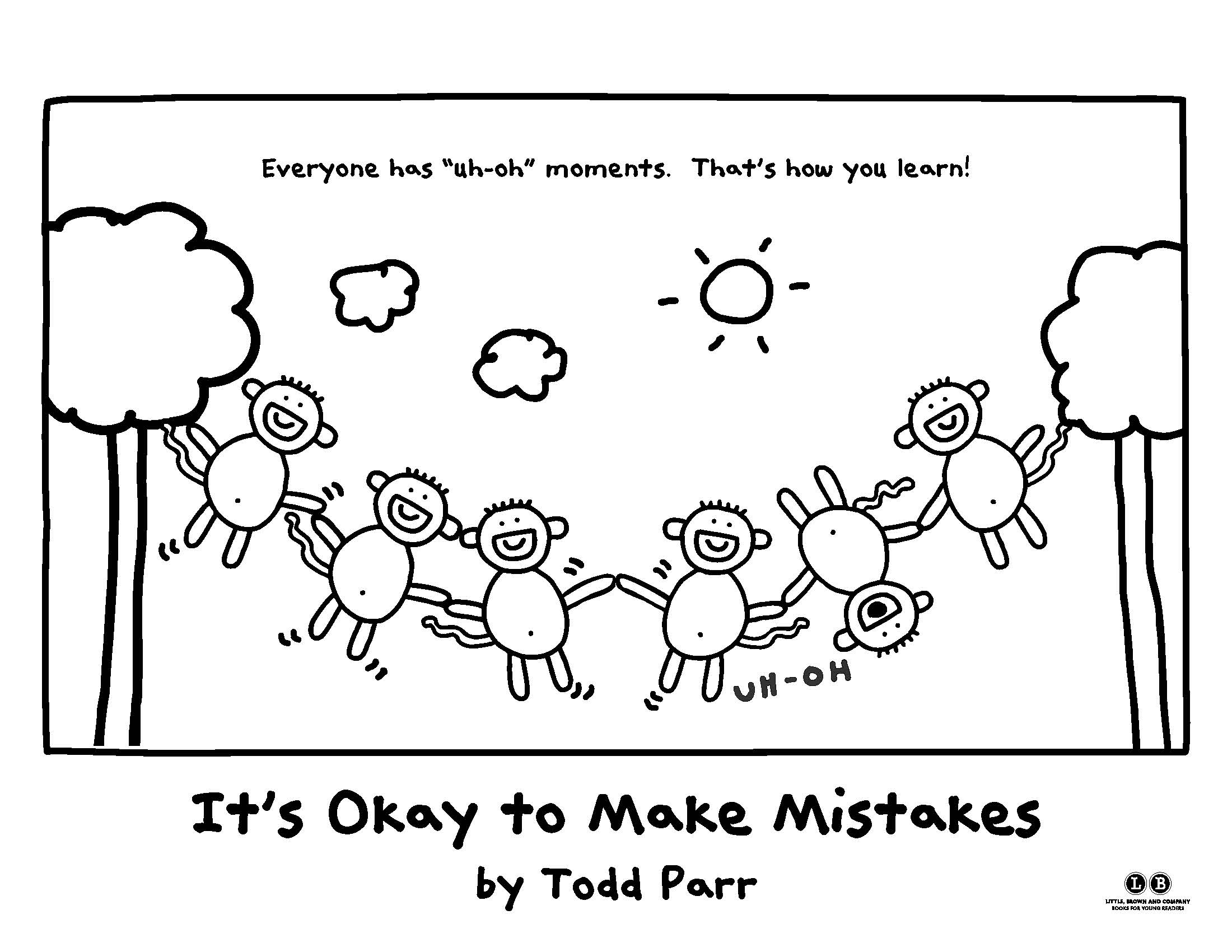 Todd Parr Coloring Pages