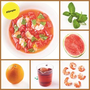 Simple2 Recipe easy melon soup