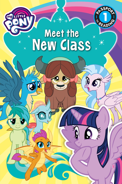 my little pony meet the ponies of ponyville passport to reading level 1