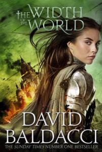 THE WIDTH OF THE WORLD UK Cover