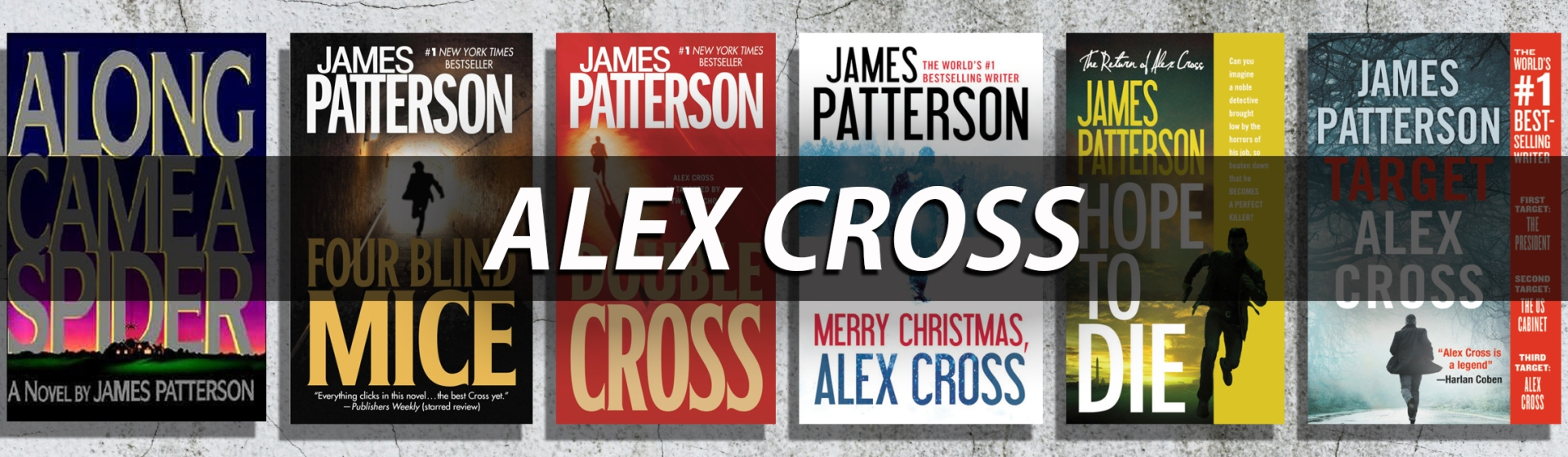 James Patterson S Alex Cross Series Books In Order Hachette