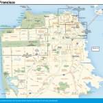 Travel map of San Francisco