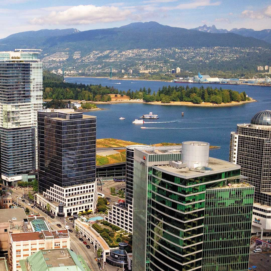 Vancouver lookout view
