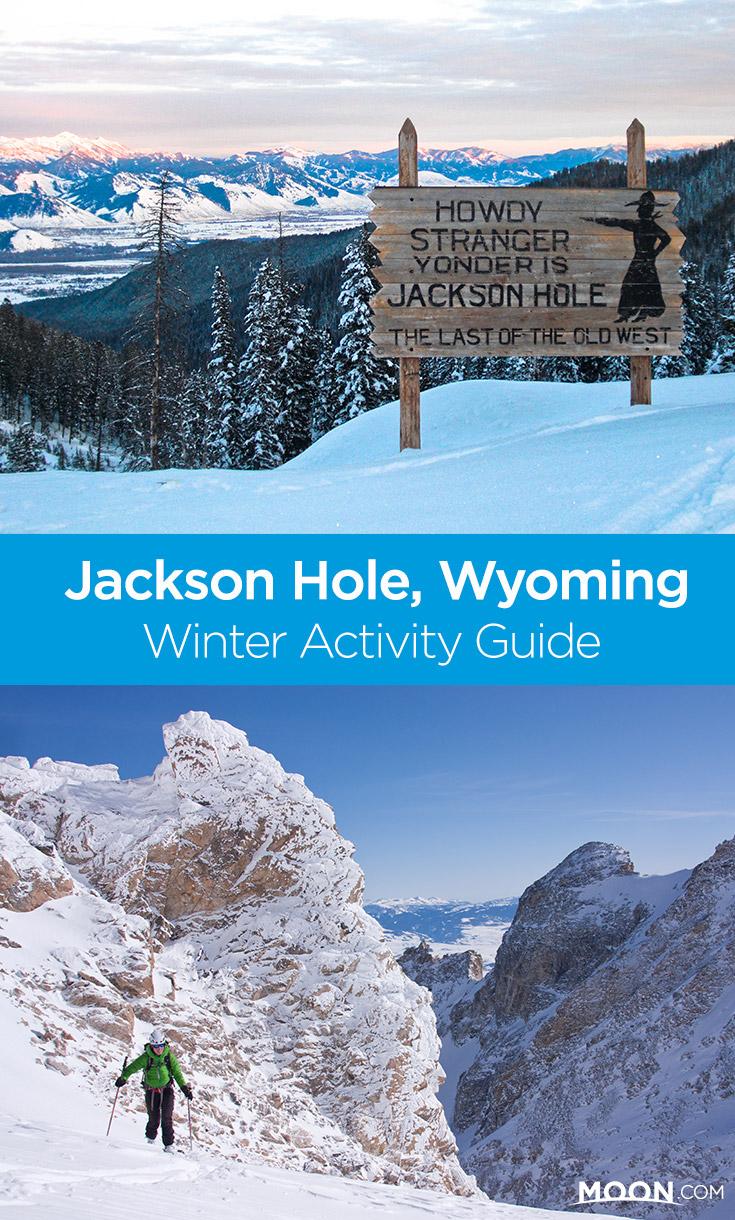 jackson hole winter activites pin graphic