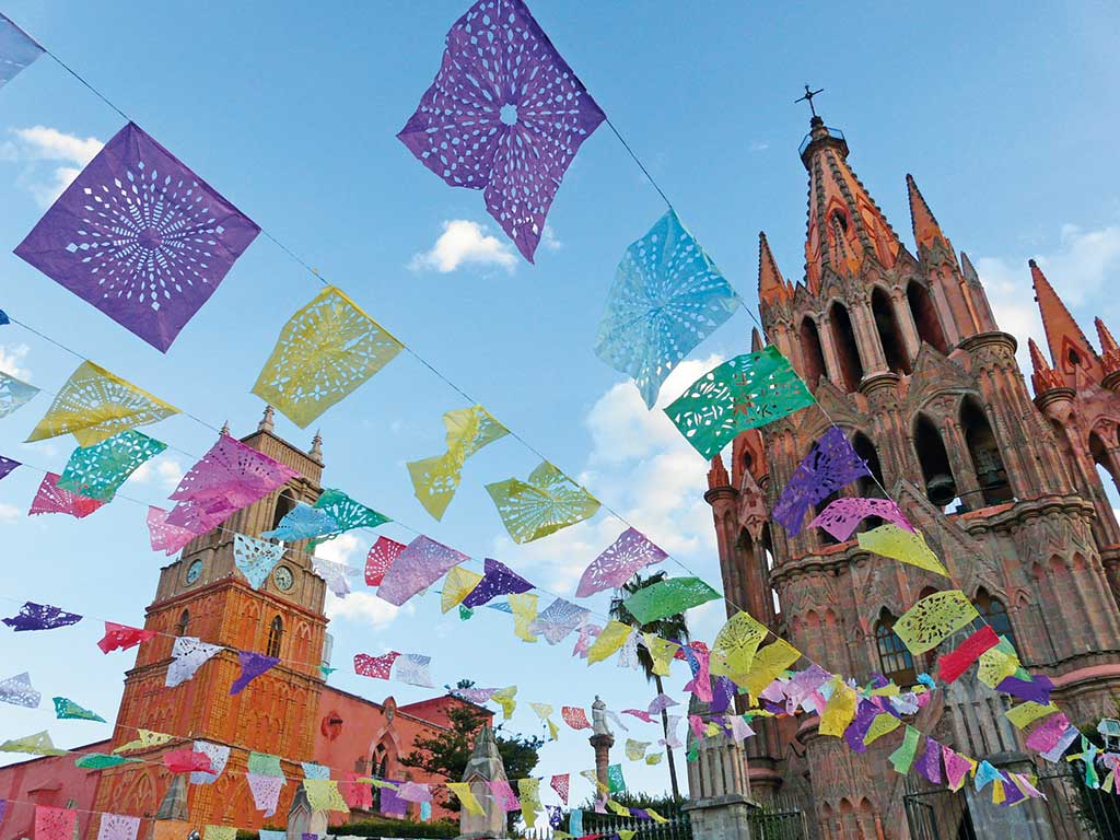 church in San Miguel de Allende