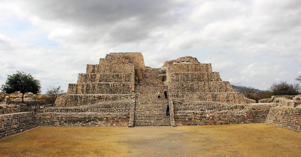pyramid of canada de la virgen
