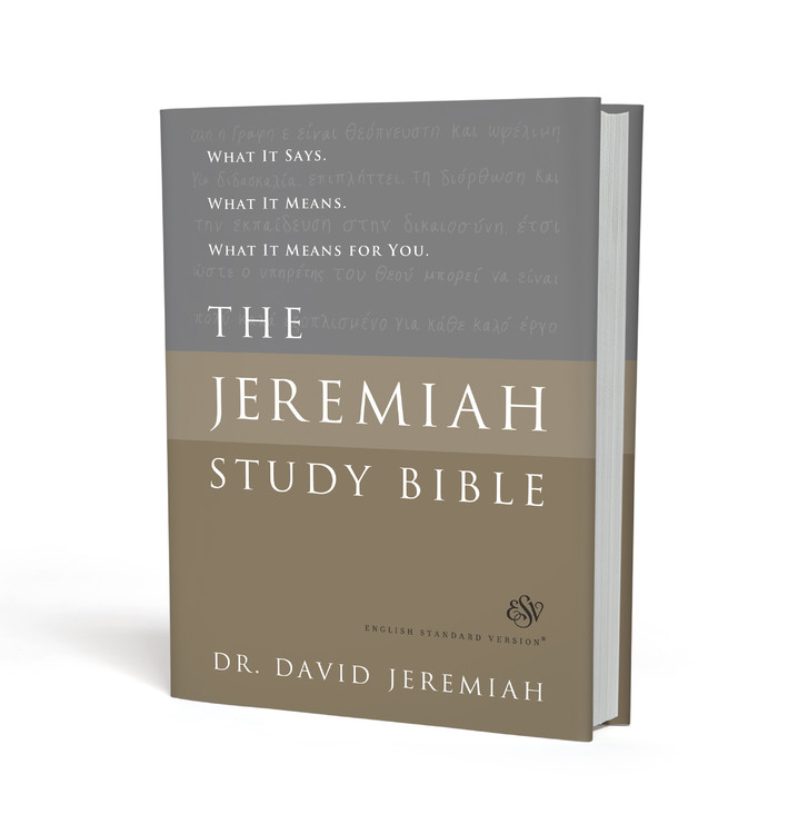 The Jeremiah Study Bible, ESV