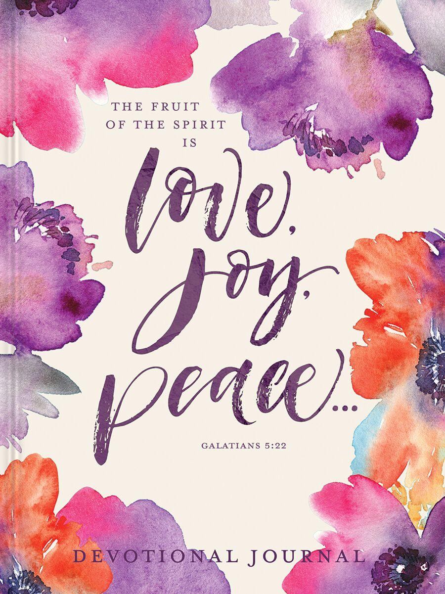 Love Joy Peace Devotional Journal