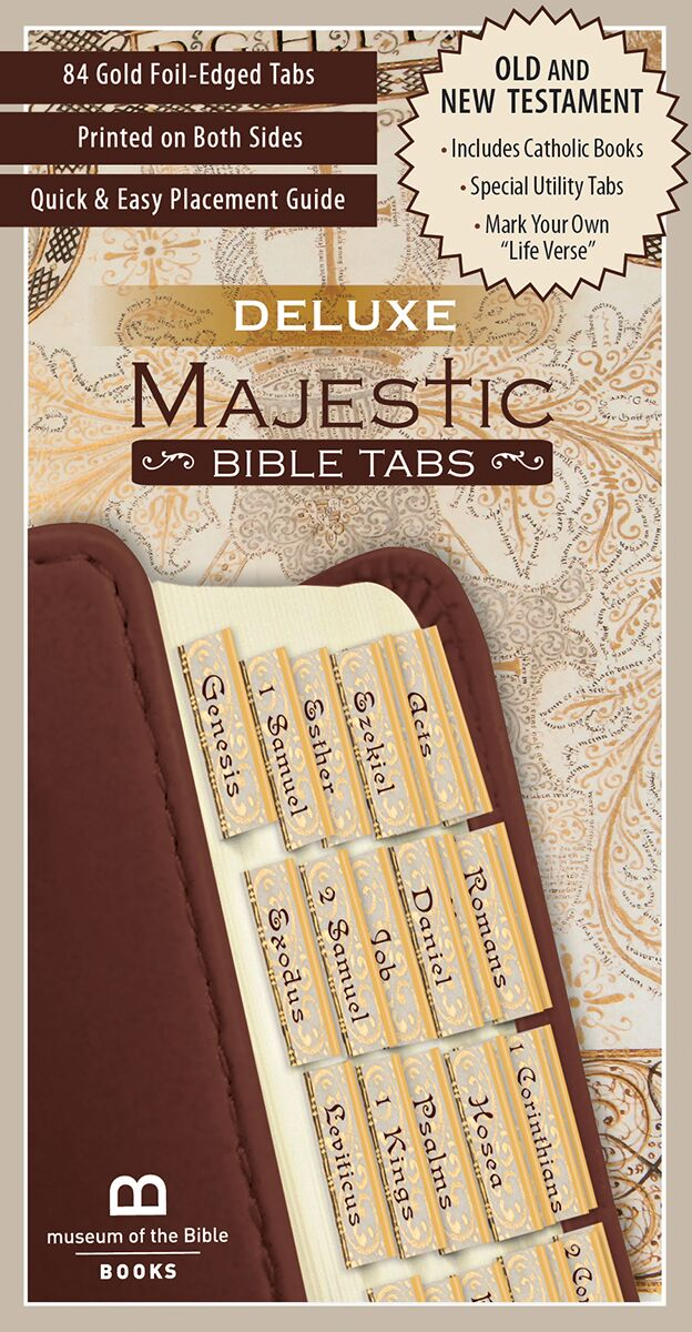 Deluxe Majestic Bible Tabs by the Museum of the Bible