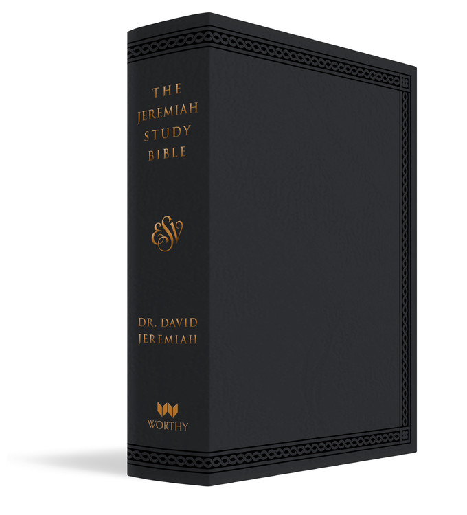 The Jeremiah Study Bible, ESV, Black LeatherLuxe