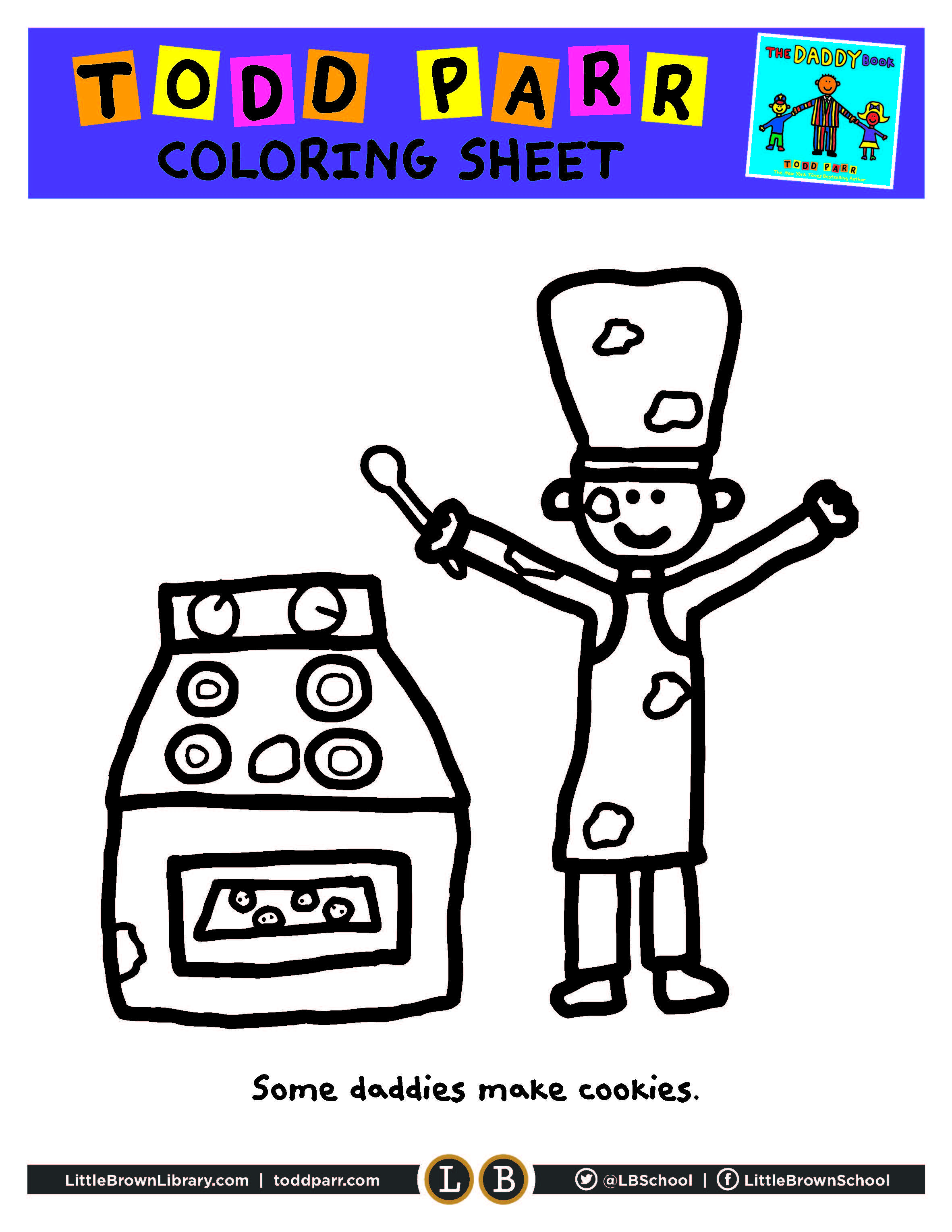 Todd Parr Coloring Page