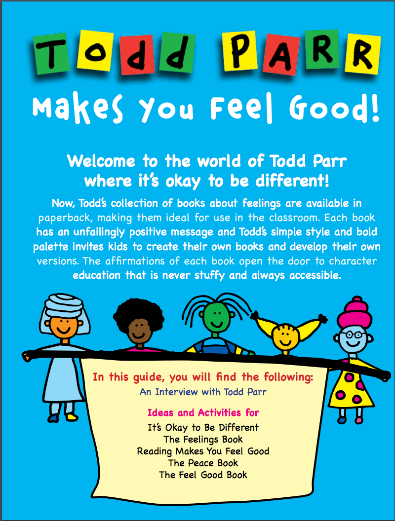 Todd Parr Fun Activity Guides