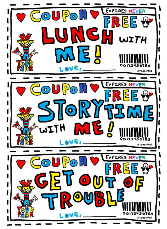 Todd Parr Lunchbox Coupon
