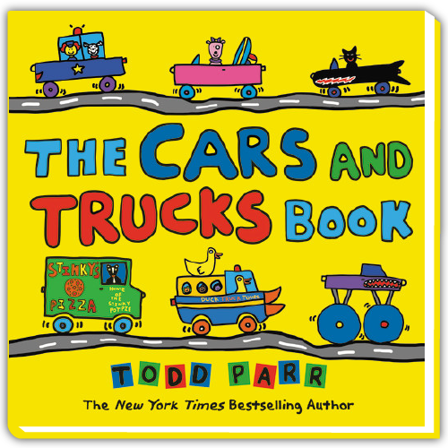 Todd Parr Spotify Playlist - The Cars and Trucks Book