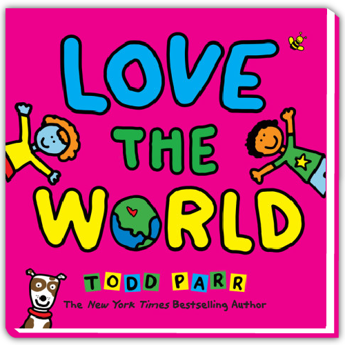 Todd Parr Spotify Playlist - Love the World